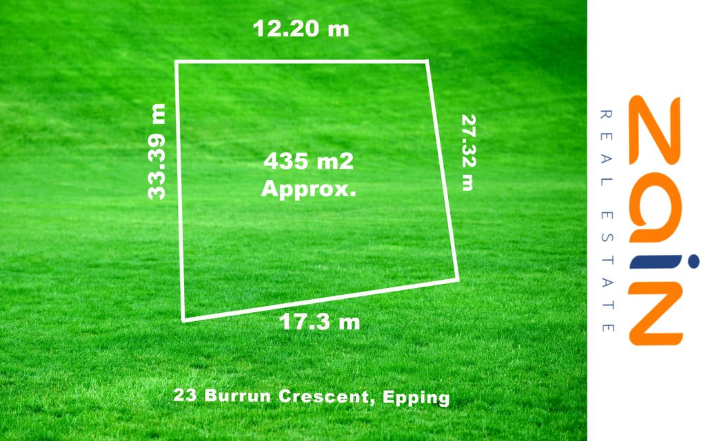 Land for Sale – 435sqm (Approx)