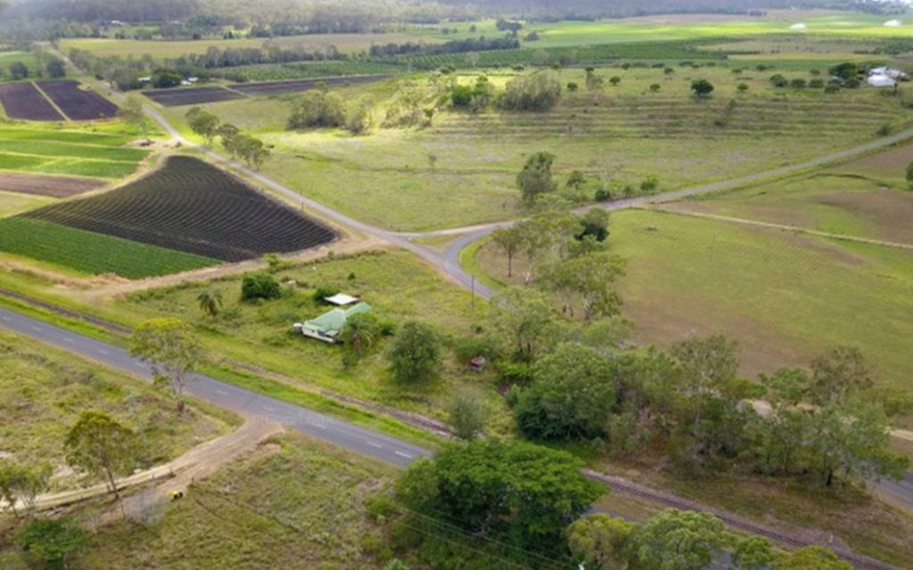 WHAT AN OPPORTUNITY – BEING SOLD AS VACANT LAND – IDEAL HOBBY FARM