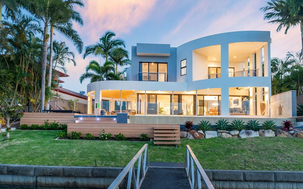 Architecturally Designed North to Water Family Home