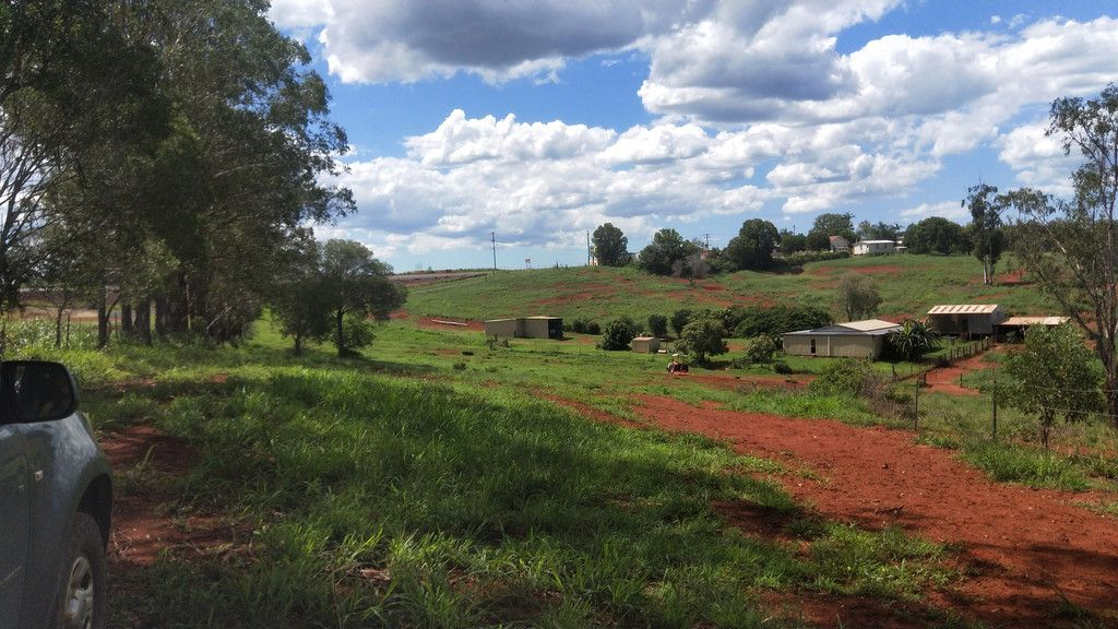 31 ACRES RICH RED SOIL, BORES & T0WN WATER, HOUSE SHEDS TROPICAL FRUIT.+ DA APPROVAL