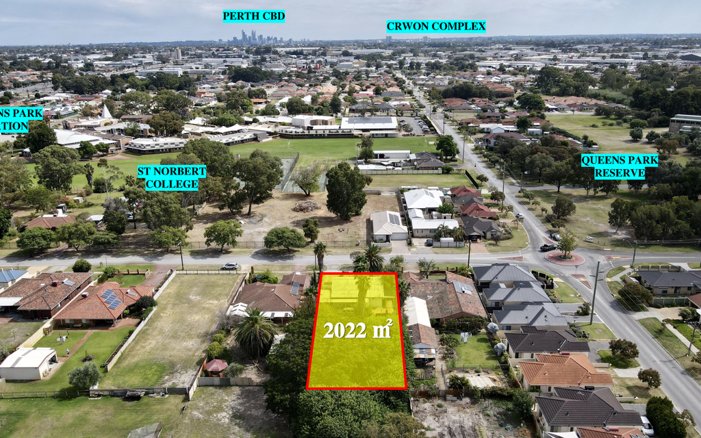 Massive 2022sqm Residential Land with Great Development Potential