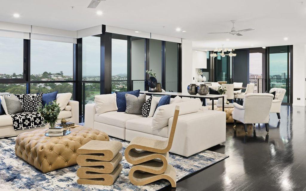 Bespoke Sky Home In Brisbane's New Cosmopolitan Address.