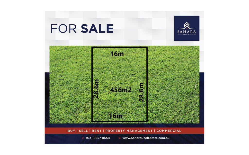 456sqm in Melton South