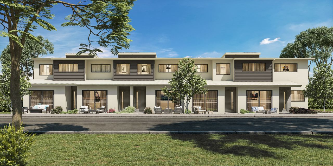 Only Three Townhouses Left!