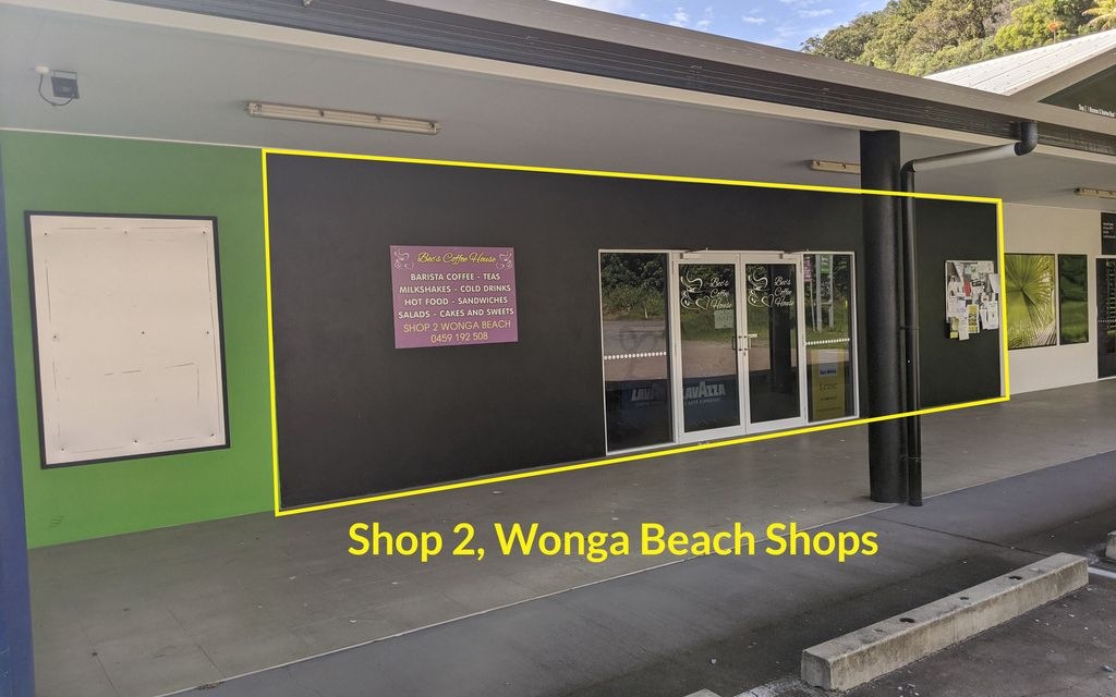 PROMINENTLY LOCATED COMMERCIAL PREMISES IN WONGA BEACH
