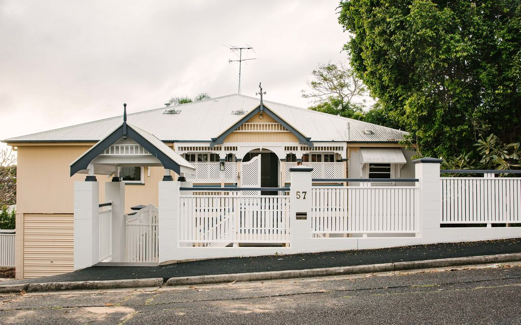 Turn-of-the-Century Queenslander in a Coveted Clayfield Street
