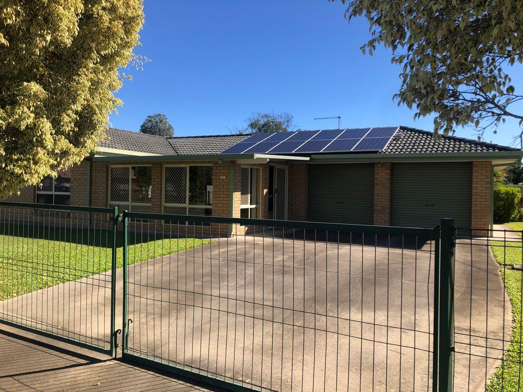 3 Bedroom Home with Solar on Corner Block.