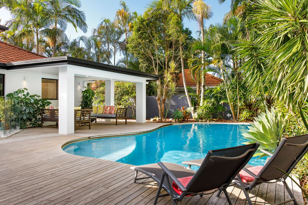 Laid-back Noosa Waters living in this substantially renovated home
