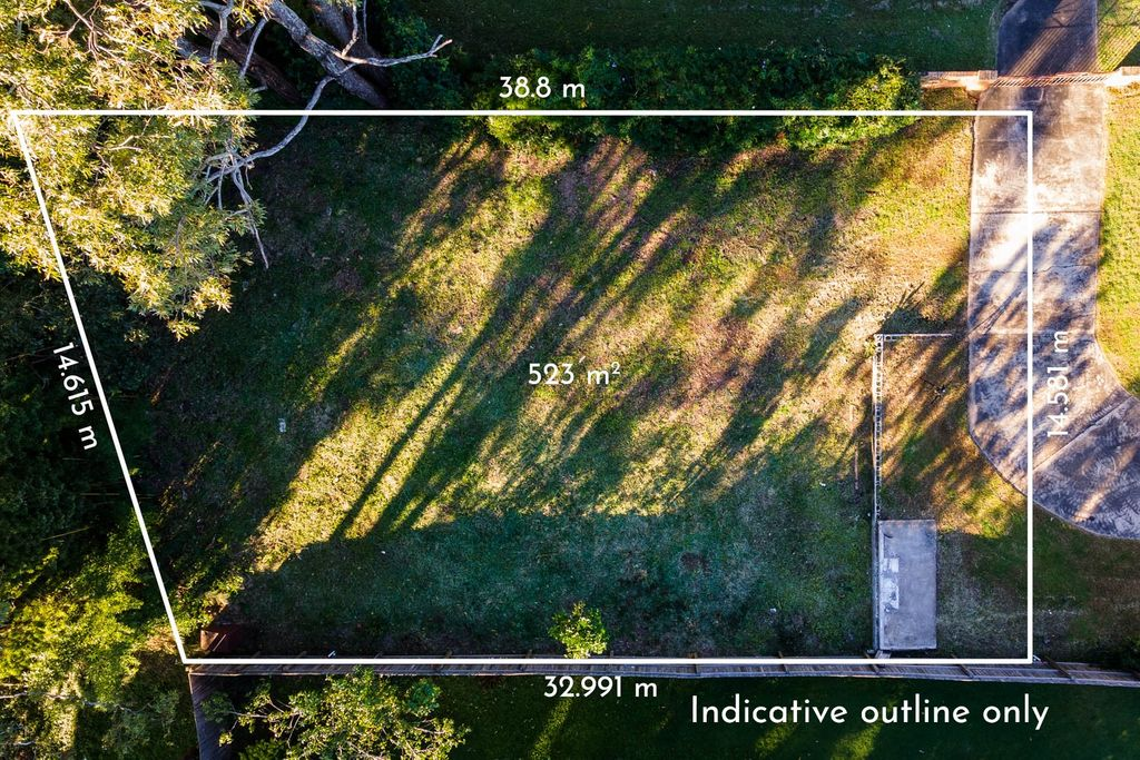 VACANT LAND – 523m2 to Build Your Dream Home