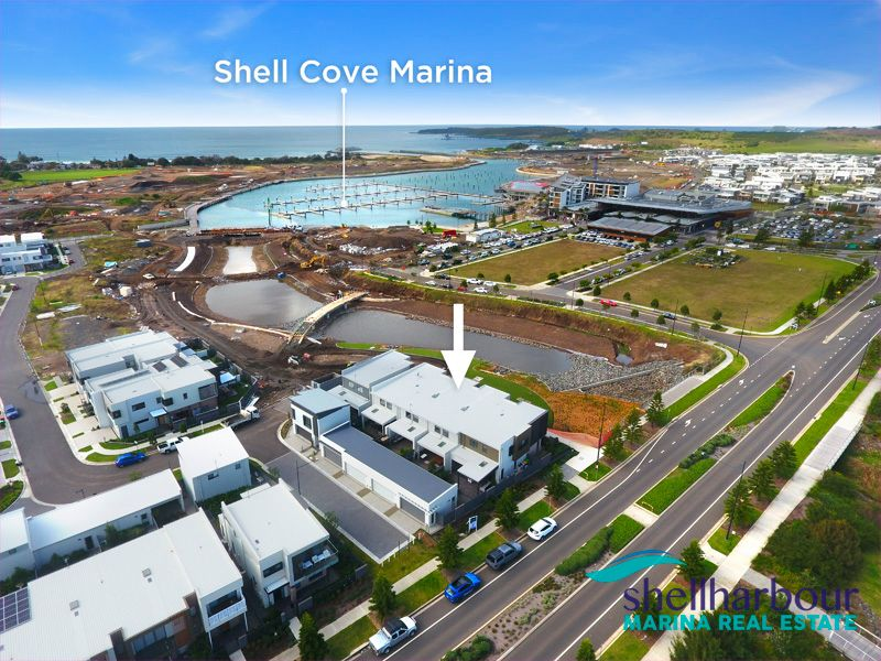 Shell Cove Marina Waters Edge location with Amazing Views & Lifestyle