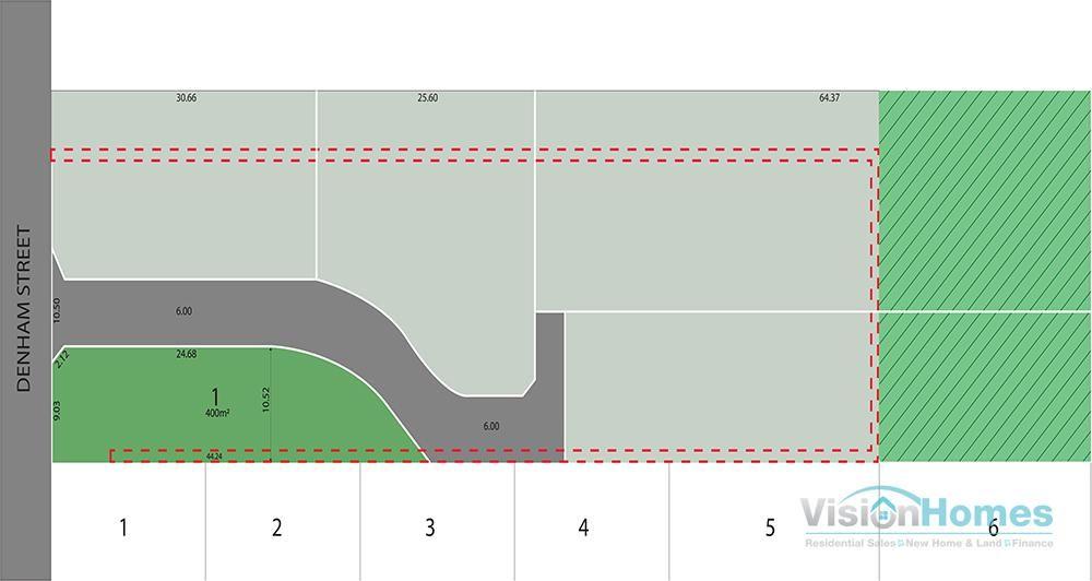 400m2 – Lot 1 Denham Greens @ 149
