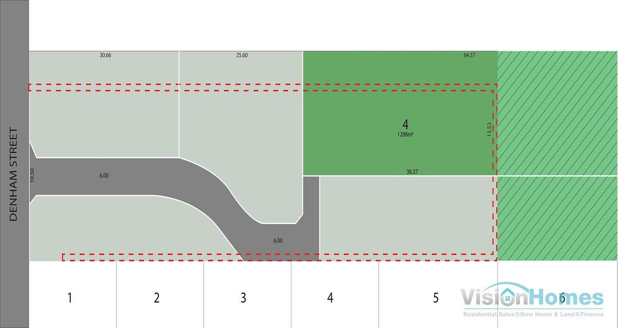 Lot 4 Denham Greens @ 149 – 1,288m2