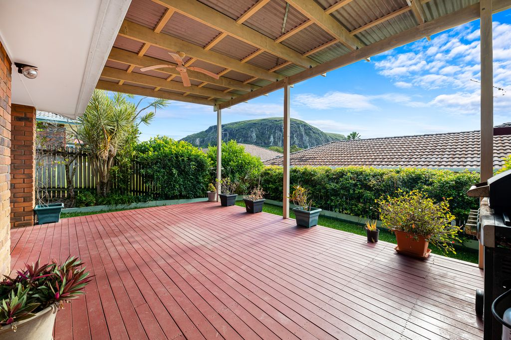 Picturesque views of Mount Coolum