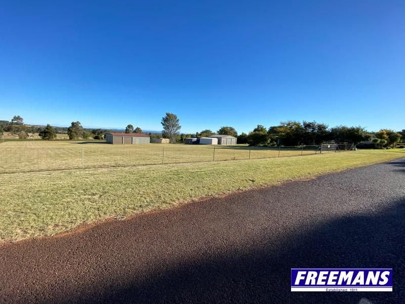Fully fenced 1 acre with 12x7m shed