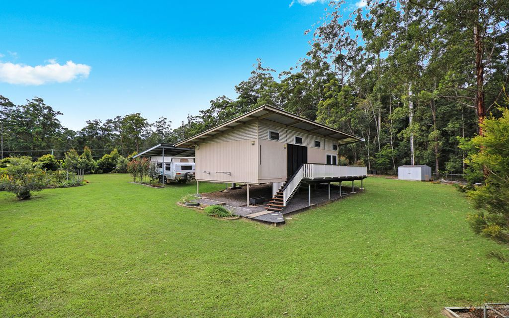 Modern cabin on acreage