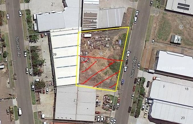 Industrial Hardstand land in Sunset Ave, Barrack Heights