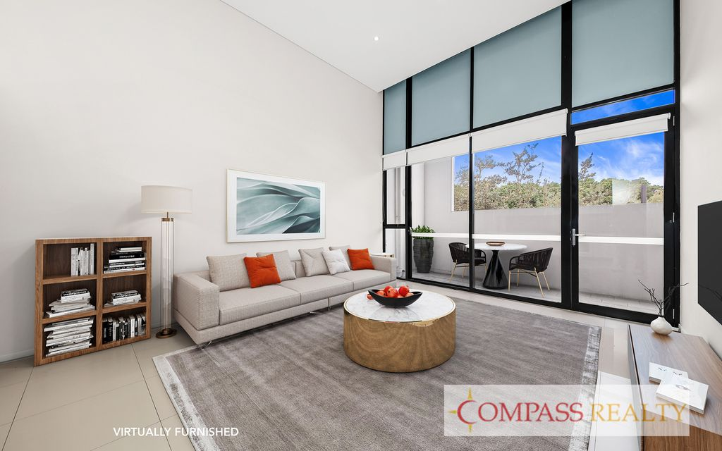 Compass Realty – Stylish, High Ceiling Apartment in Zetland.