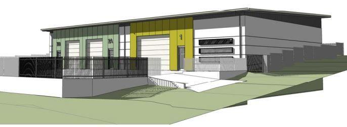 Brand New Freestanding Concrete Panel Warehouse