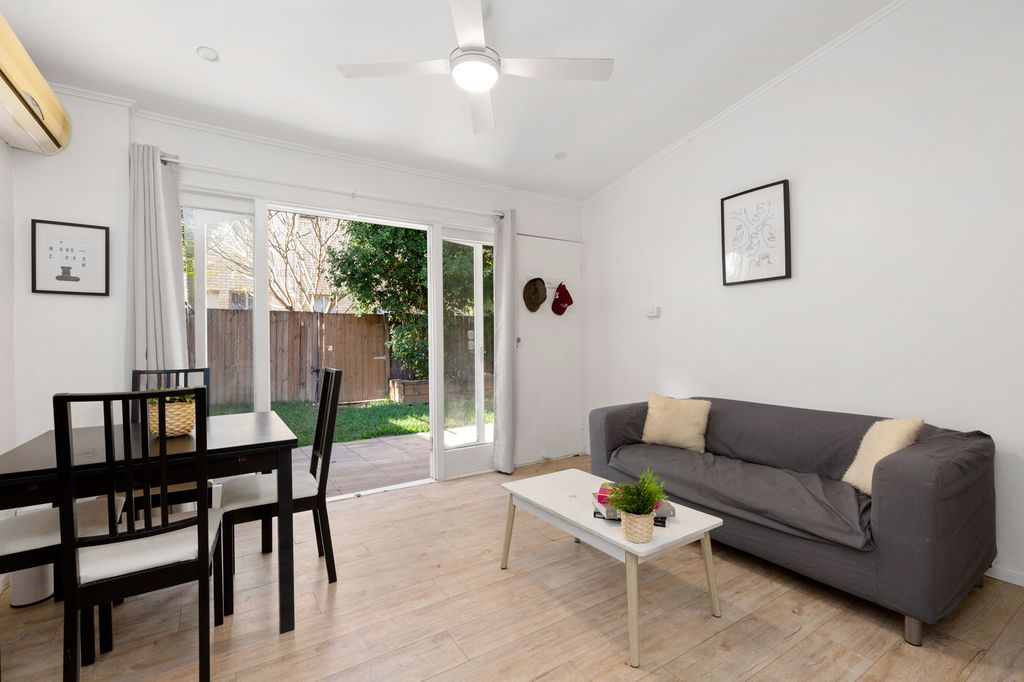 Ground Floor Unit with a Private Courtyard and Parkside Position