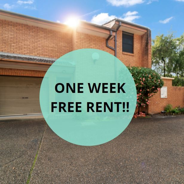 Offering One Week Free Rent!