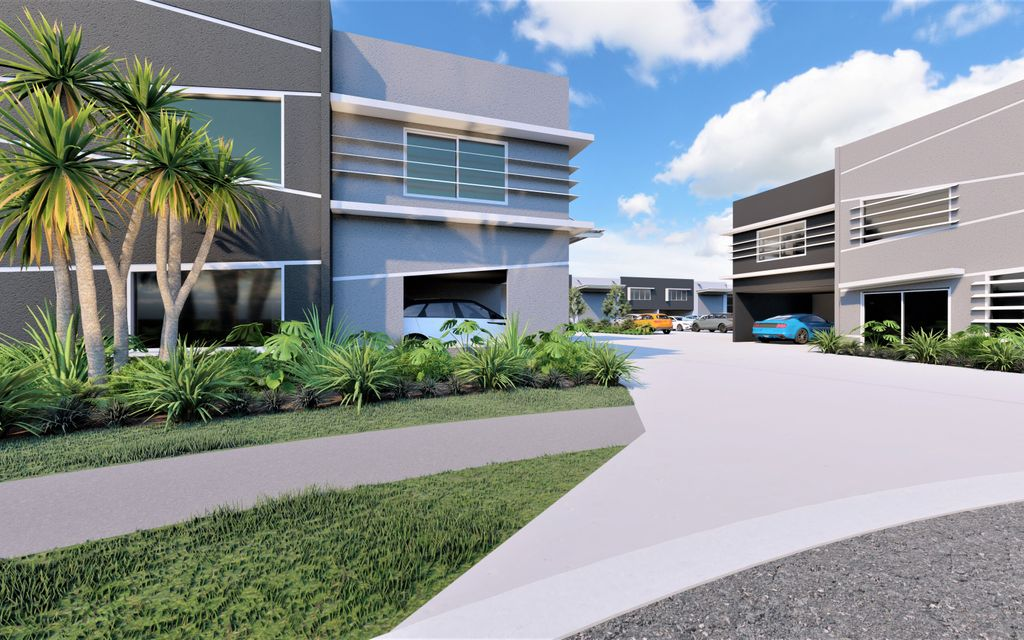 Units Now Also Available For Lease –  Front Position Super Modern Sophisticated Industrial Headquarters!