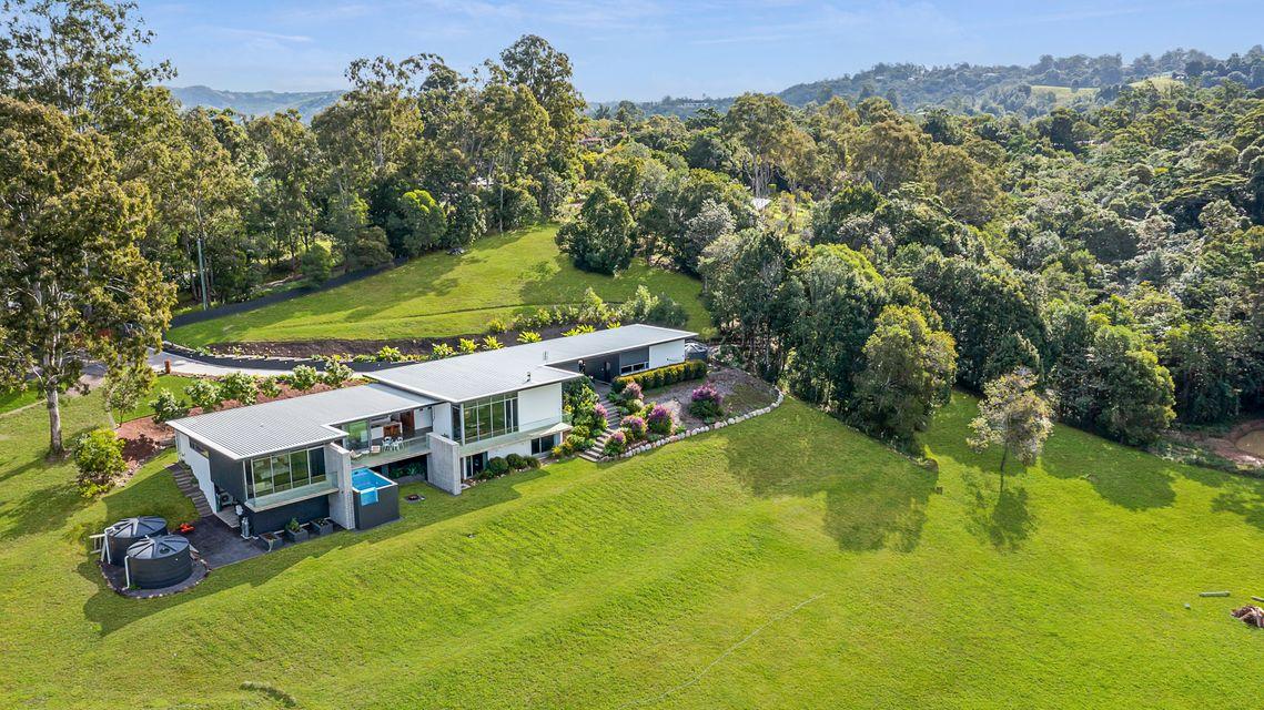 Stunning contemporary acreage home