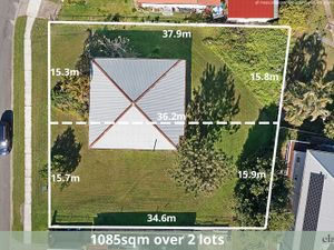 Priced To Sell! 1085m2 Block. 2 Lots. 30.9m Frontage