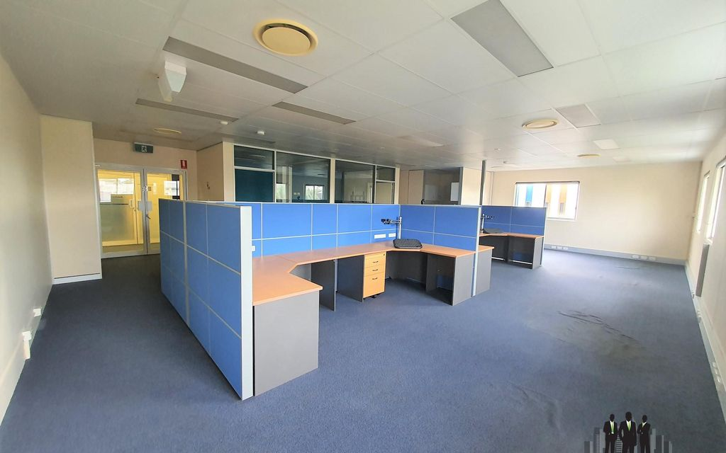 Professional Office Fitted With Open Plan Work Stations