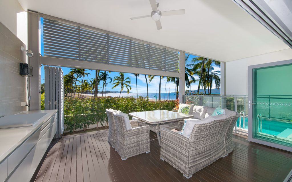 OPULENCE AND STYLE –  BEACHFRONT HOME WITH IN-GROUND POOL