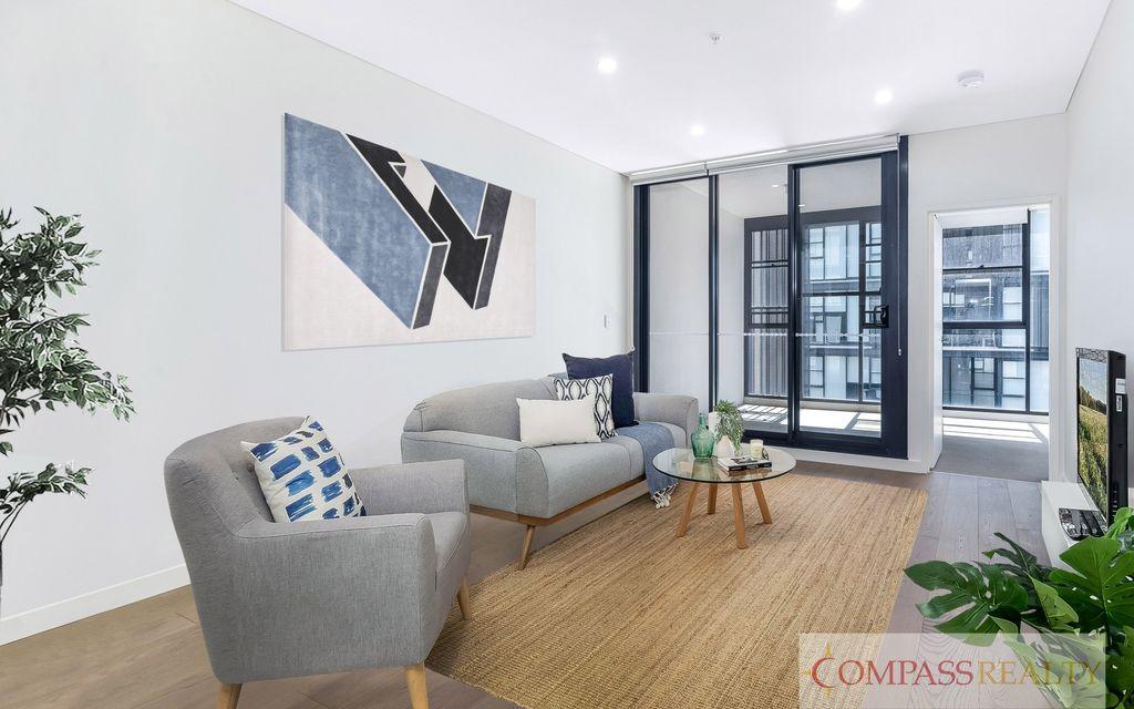 Modern 1 bedroom with Spacious Study room Zetland