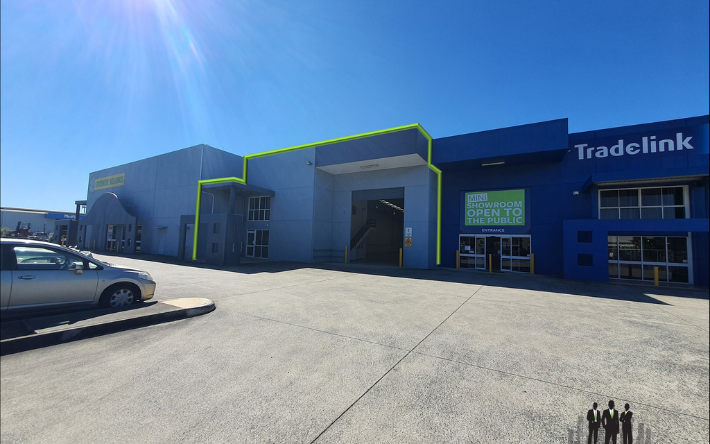 Modern Industrial Warehouse + Showroom