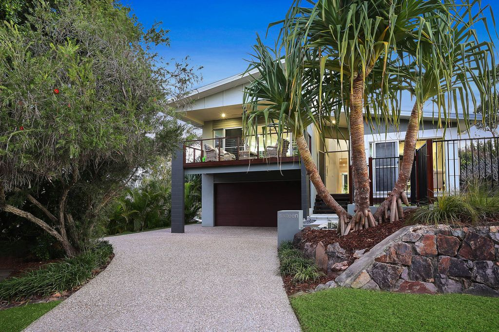 Come home to paradise at this designer Coolum Beach masterpiece