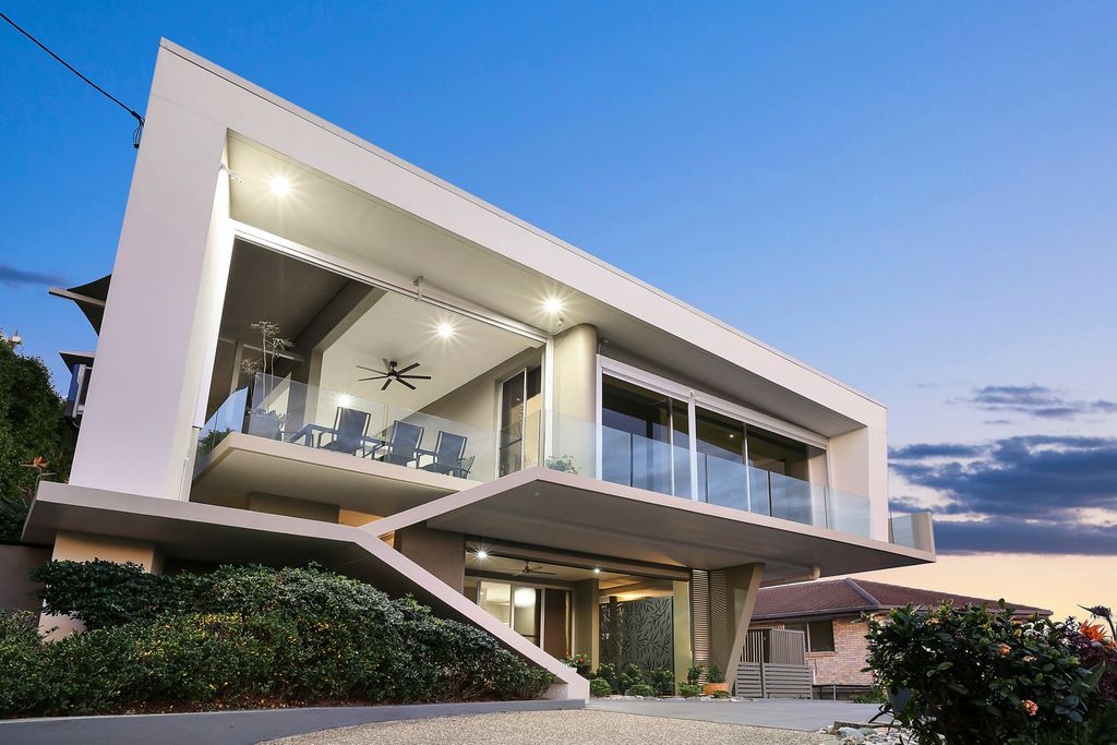Luxurious multi-level masterpiece in blue chip locale