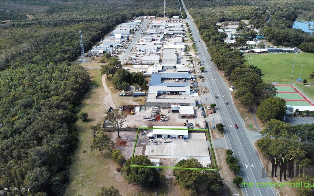 RARE Hardstand + Warehouse Opportunity On Bribie Island