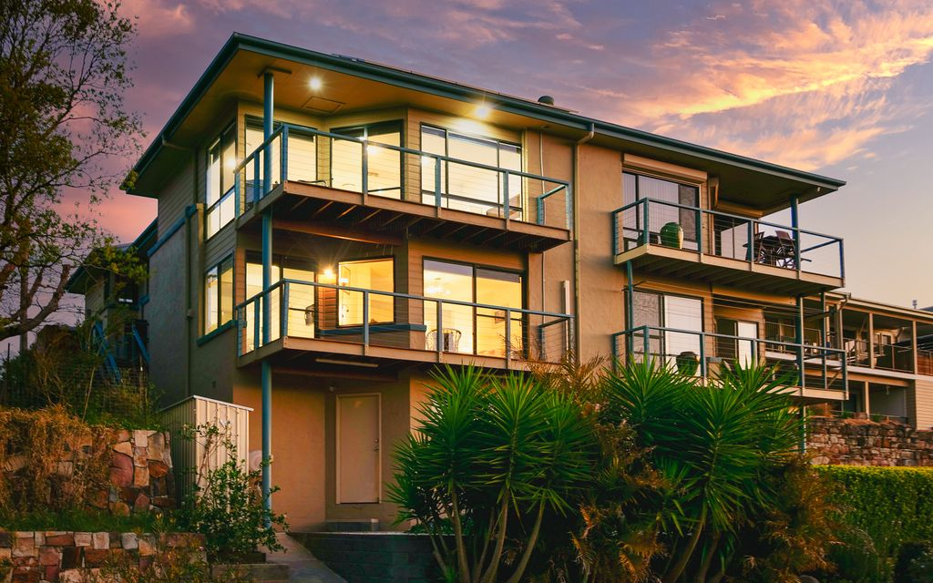 Prime waterfront living with spectacular sunsets