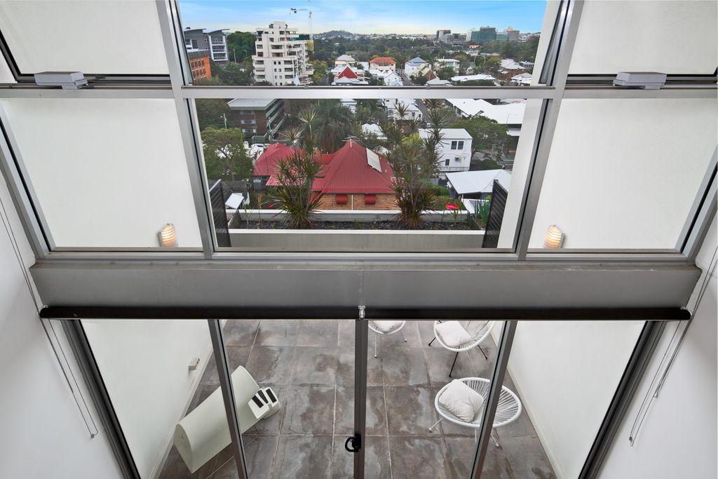 Loft style penthouse