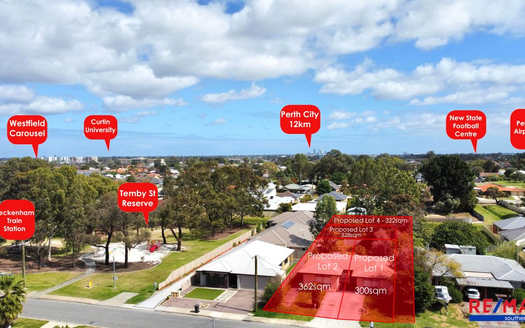 Ultimate 4 in 1 Investment Site! 1491sqm of Prime Land