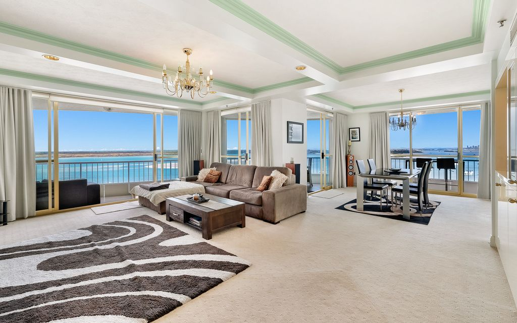 SENSATIONAL WATERFRONT APARTMENT IN PRESTIGIOUS LES COLONNADES RARE OPPORTUNITY TO SECURE YOUR SLICE OF PARADISE