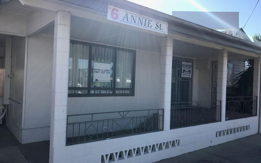 CBD Freestanding Office with On-Site Parking – Gross Rent
