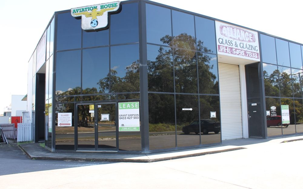 Prominent Corner Showroom or Warehouse Location