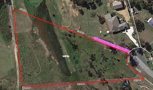 Generous 2.7 acres in New Beith