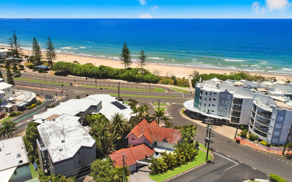 Blue chip beachside home with great development opportunity