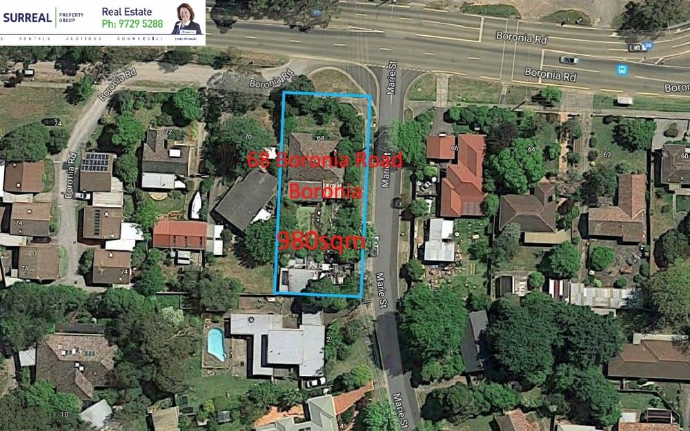 HIGH DENSITY DEVELOPMENT SITE (S.T.C.A.) IN THE HEART OF BORONIA!