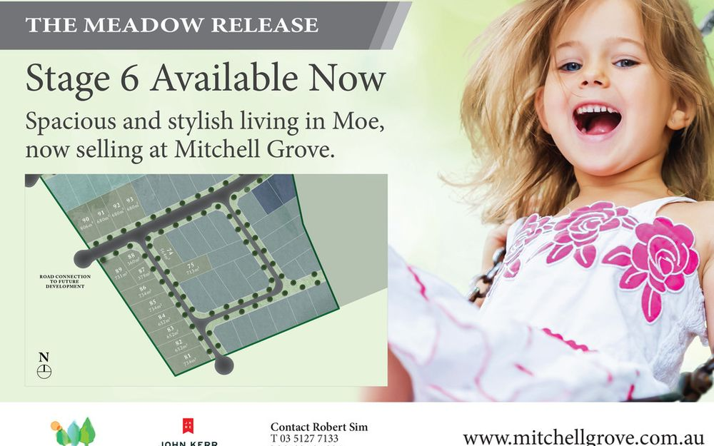 THE MEADOW RELEASE (STAGE 6) MITCHELL GROVE