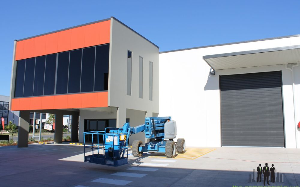 Front of Complex Warehouse/Office – Newly Constructed