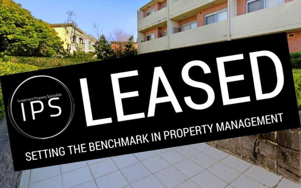 LEASED!!!