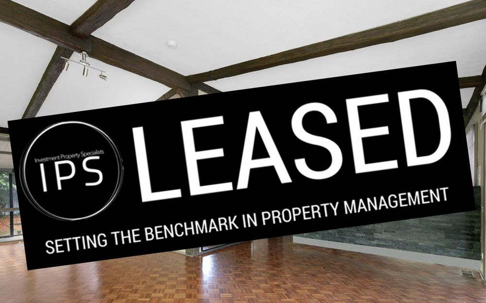 LEASED*** OPEN HOME CANCELLED