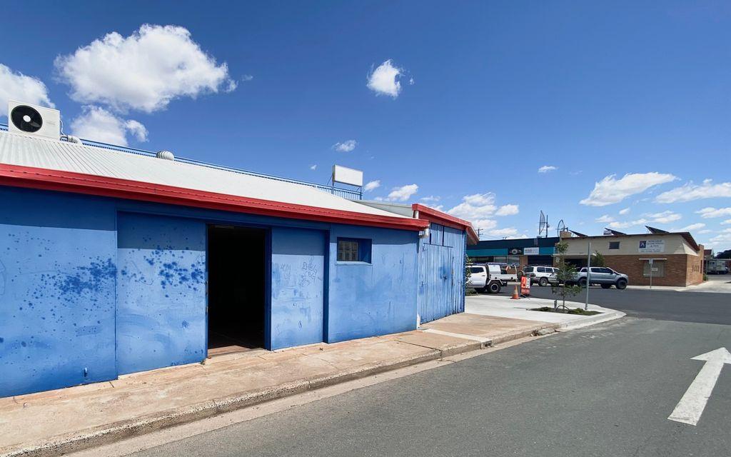 CBD Shop Frontage near large car park