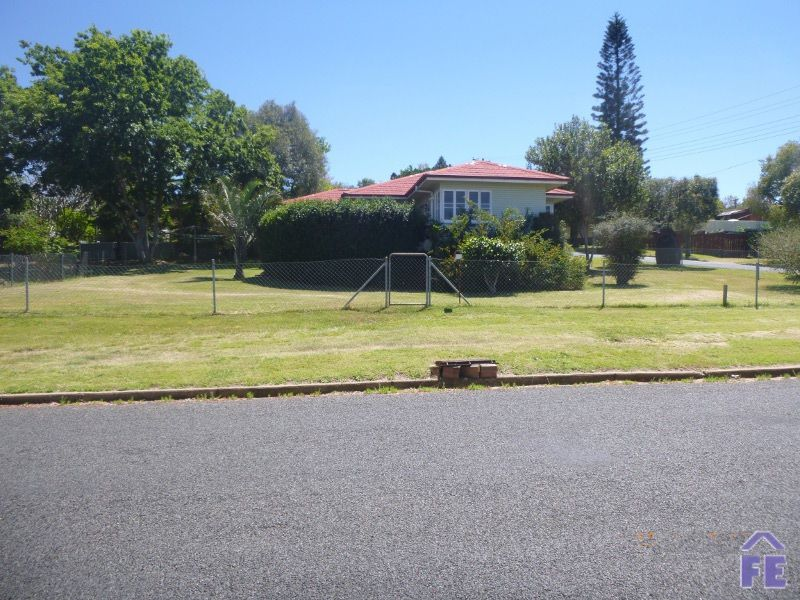 Corner block in a great street  With views to the Bunya Mountains