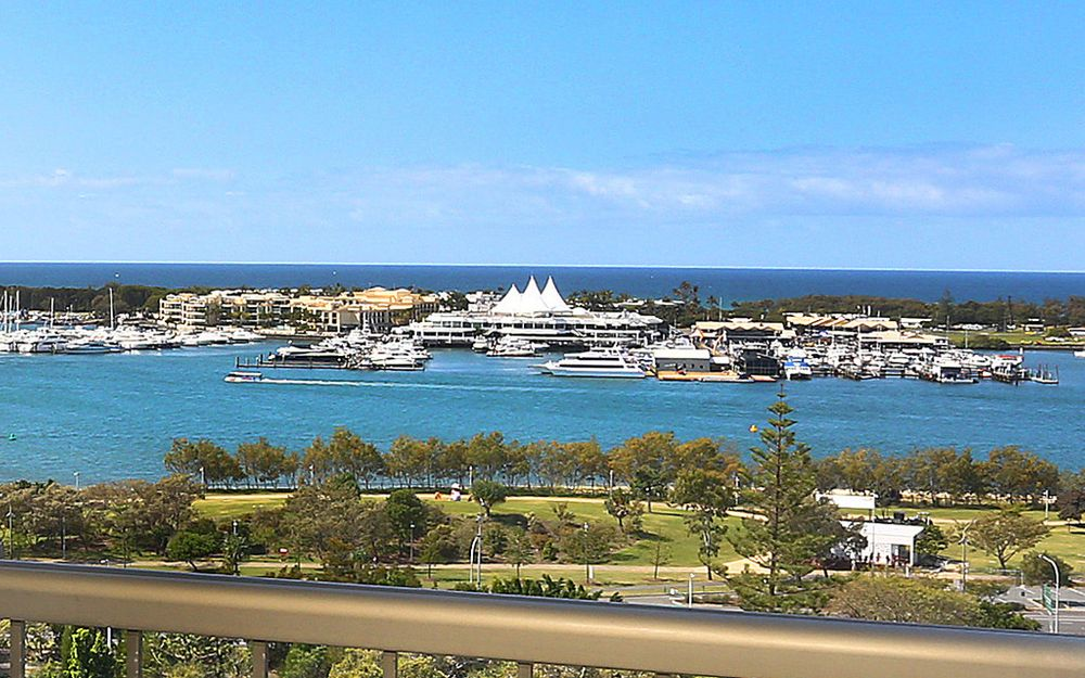 EAST FACING WITH UNINTERRUPTED OCEAN & BROADWATER VIEWS